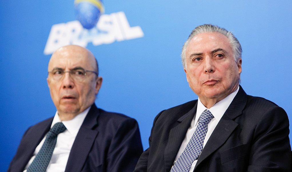 Brasília - DF, 08/06/2016. Presidente Interino Michel Temer durante encontro com Líderes Empresariais. Foto: Beto Barata/PR