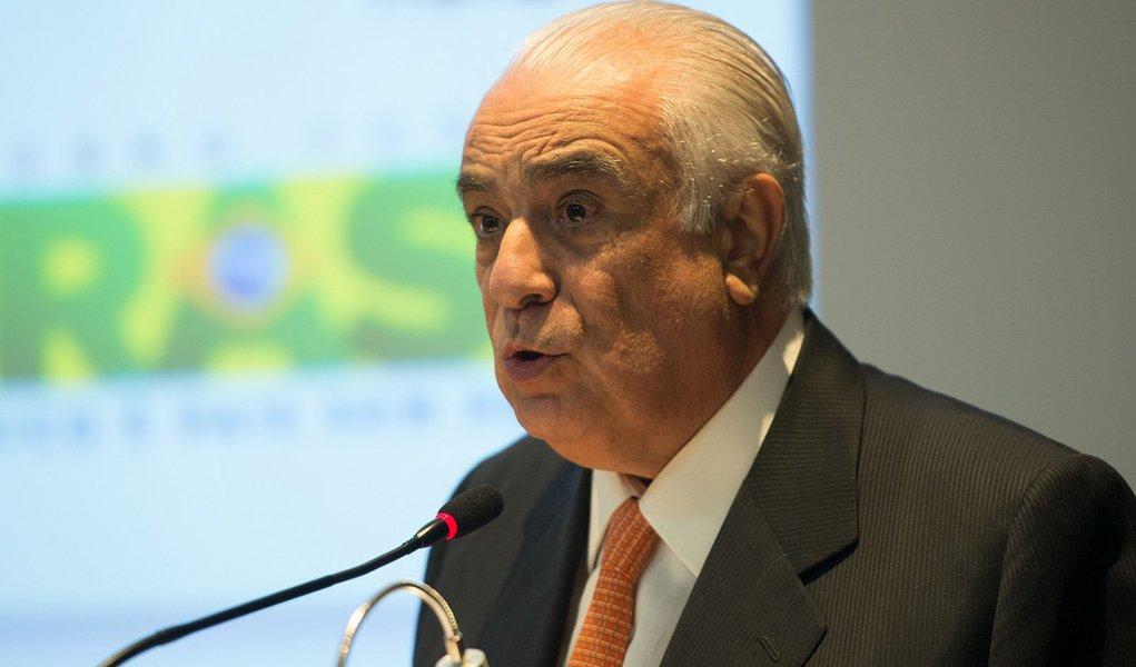 Brasília- DF- Brasil- 05/01/2015- O novo Ministro dos Transportes, Antônio Carlos Rodrigues assume o cargo (Marcelo Camargo/Agência Brasil)