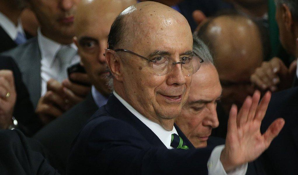 Brasília - Ex-presidente do Banco Central, Henrique Meirelles assume o Ministério da Fazenda (Marcello Casal Jr/Agência Brasil)