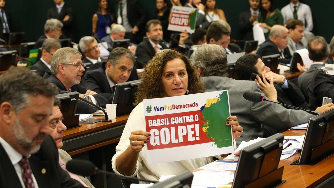 Brasília- DF 08-04-2016 Reunião da comissão especial do impeachment. Foto Lula Marques/Agência PT