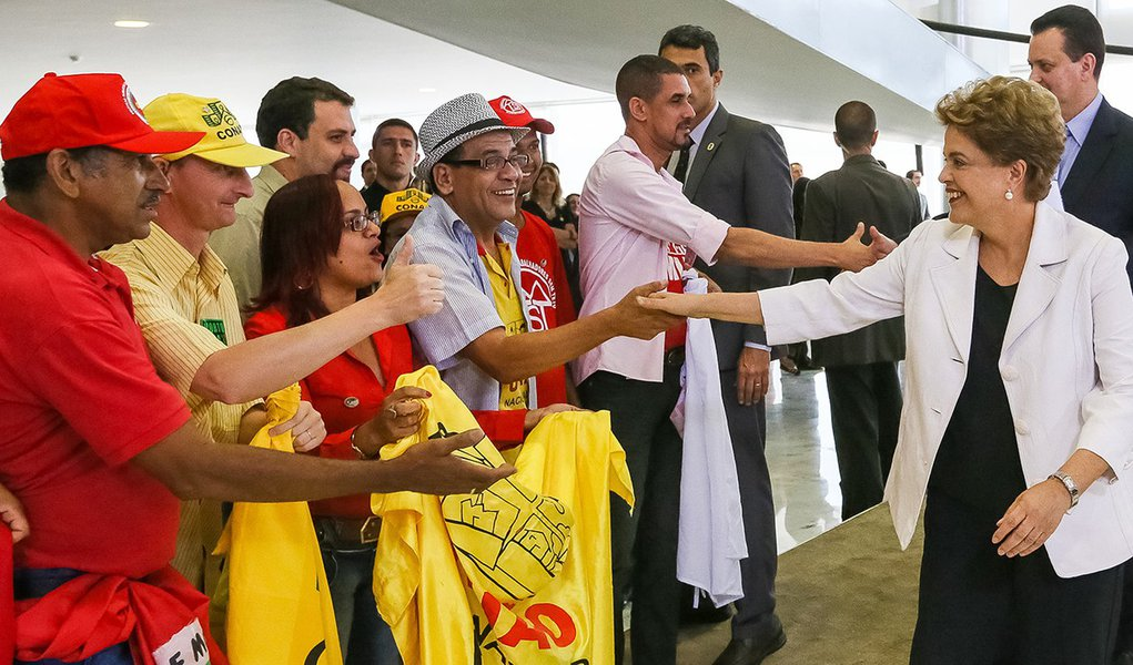 Brasília - DF, 30/03/2016. Presidenta Dilma Rousseff durante cerimônia de lançamento do Programa Minha Casa Minha Vida 3. Foto: Roberto Stuckert Filho/PR