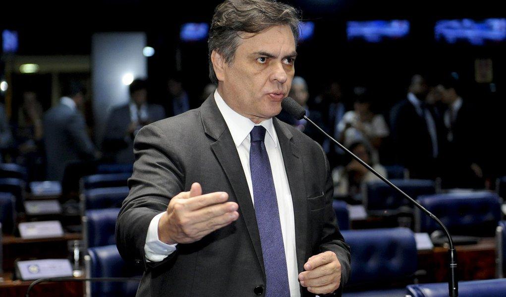 Plenário do Senado Federal durante sessão deliberativa ordinária. Em pronunciamento, senador Cássio Cunha Lima (PSDB-PB). Foto: Waldemir Barreto/Agência Senado