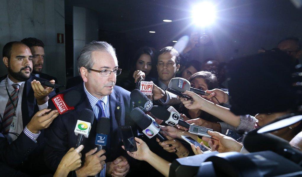 Brasília- DF 10-03-2016 Presidente da câmra dos deputados, Eduardo cunha, durante sessão.Foto Lula Marques/Agência PT