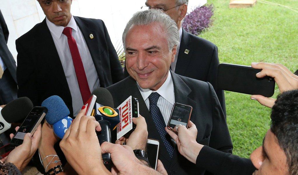 Brasília- DF 06-01-2016 Foto Lula Marques/Agência PT Vice-presidente, Michel Temer. na vice presidência.