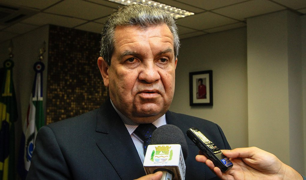 Rui Palmeira visita Washington Luiz presidente do Tribunal de Justiça. Foto: Pei Fon/ Secom Maceió