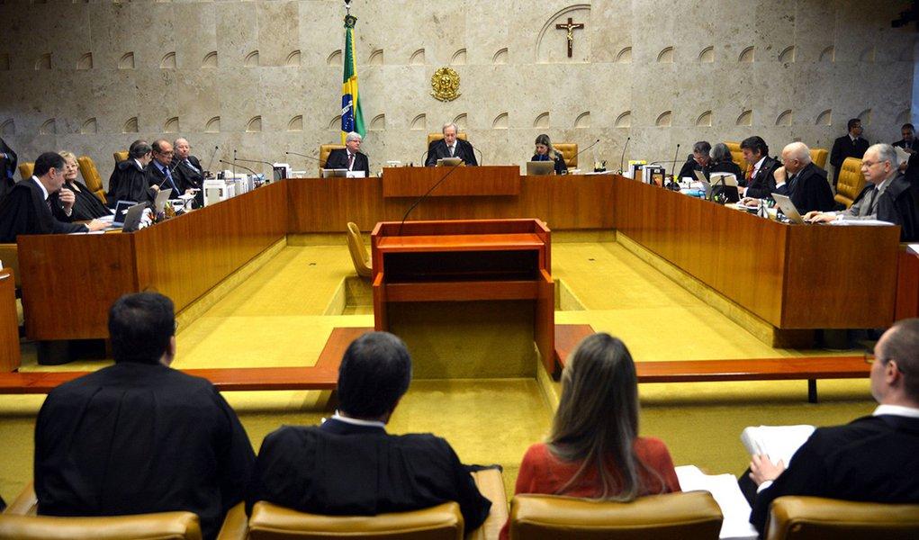 Brasília - STF adiou o julgamento sobre a validade da posse de Lula na Casa Civil, na sessão de hoje (Antonio Cruz/Agência Brasil)