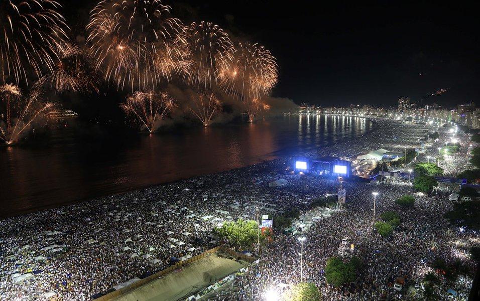 Réveillon 2014 | Copacabana - Foto: Fernando Maia | Riotur