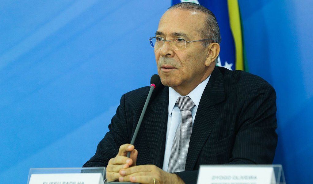 Brasília - O ministro chefe da Casa Civil, Eliseu Padilha fala sobre a reunião de Obras Inacabadas (Valter Campanato/Agência Brasil)