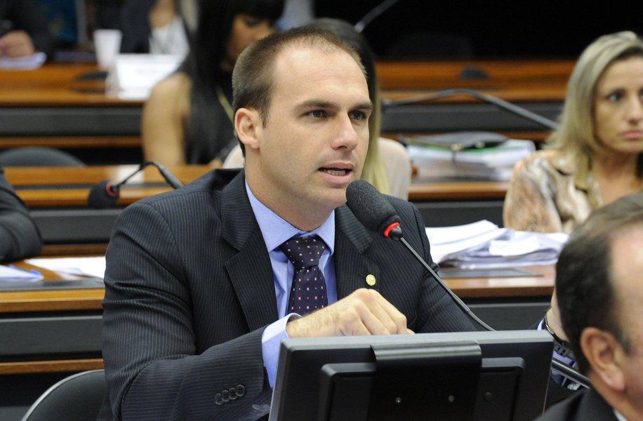 Deputado federal Eduardo Bolsonaro (PSC)