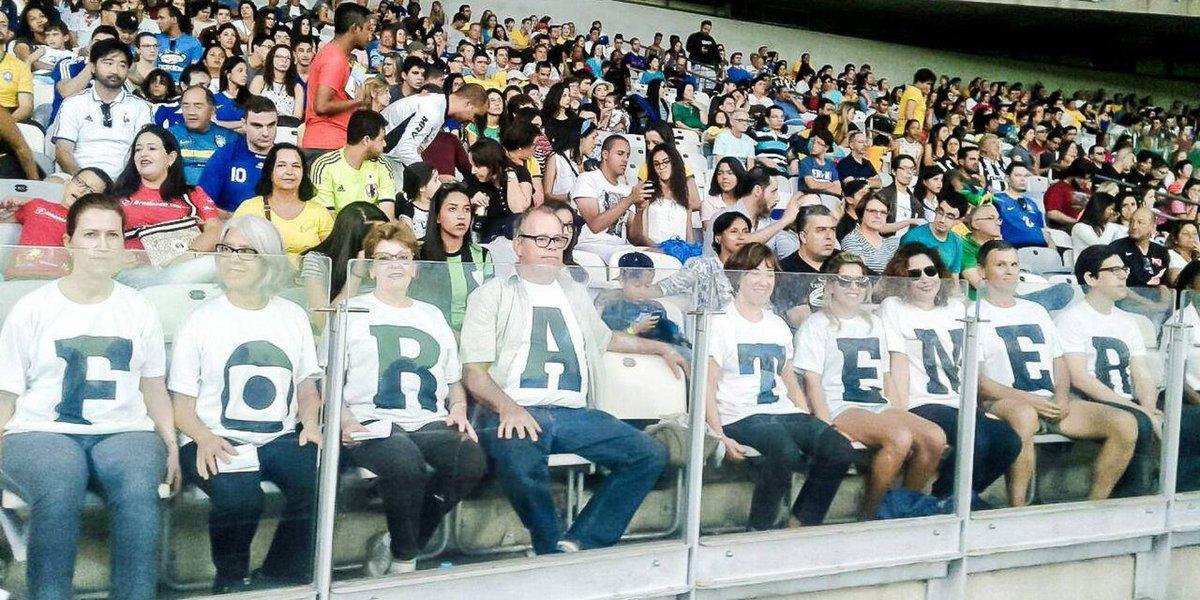 Protesto Fora Temer Olimpíada Rio 2016