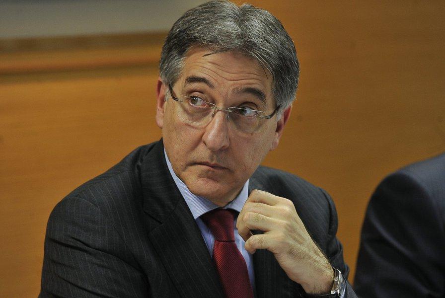 O governador de Minas Fernando Pimentel
