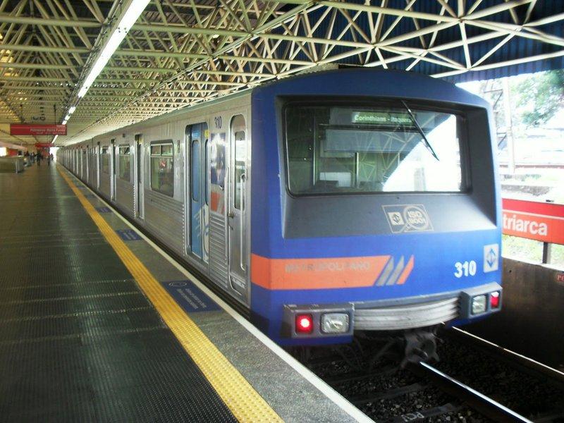 Composição do metro de SP