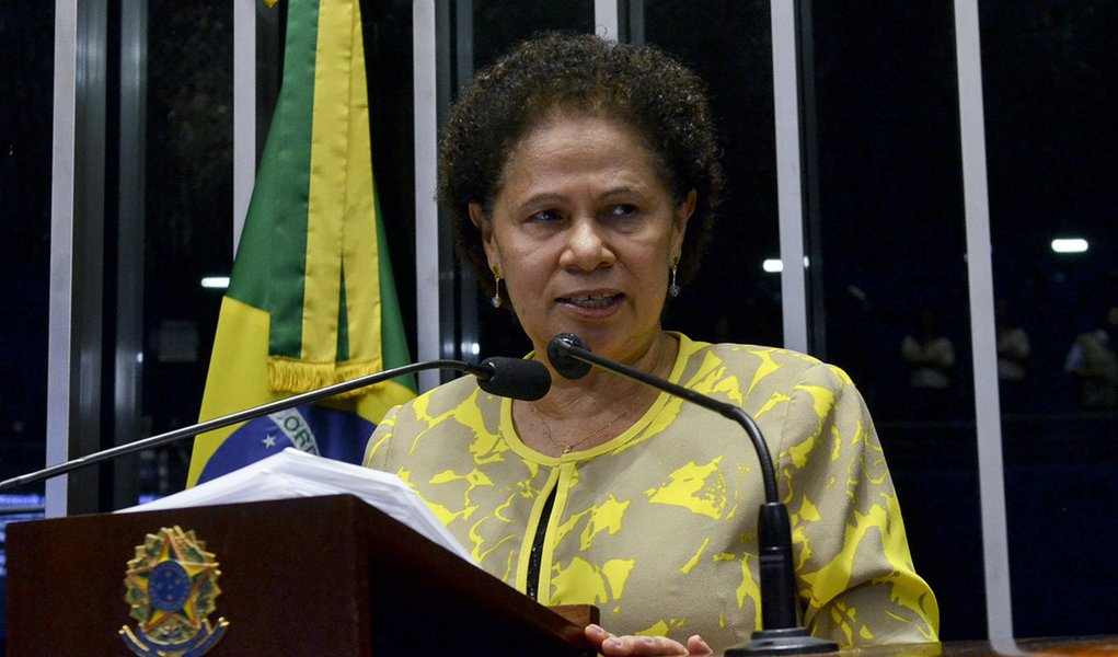 senadora Regina Sousa (PT-PI). Foto: Ana Volpe/Agência Senado