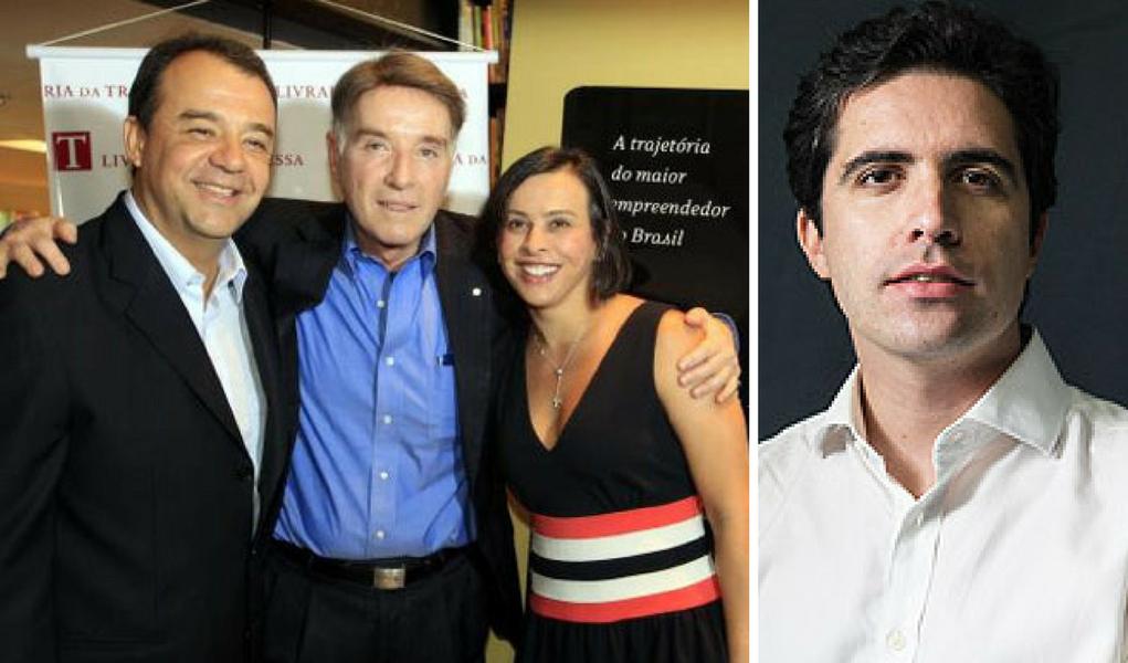 Mello Franco, Sergio Cabral e Eike
