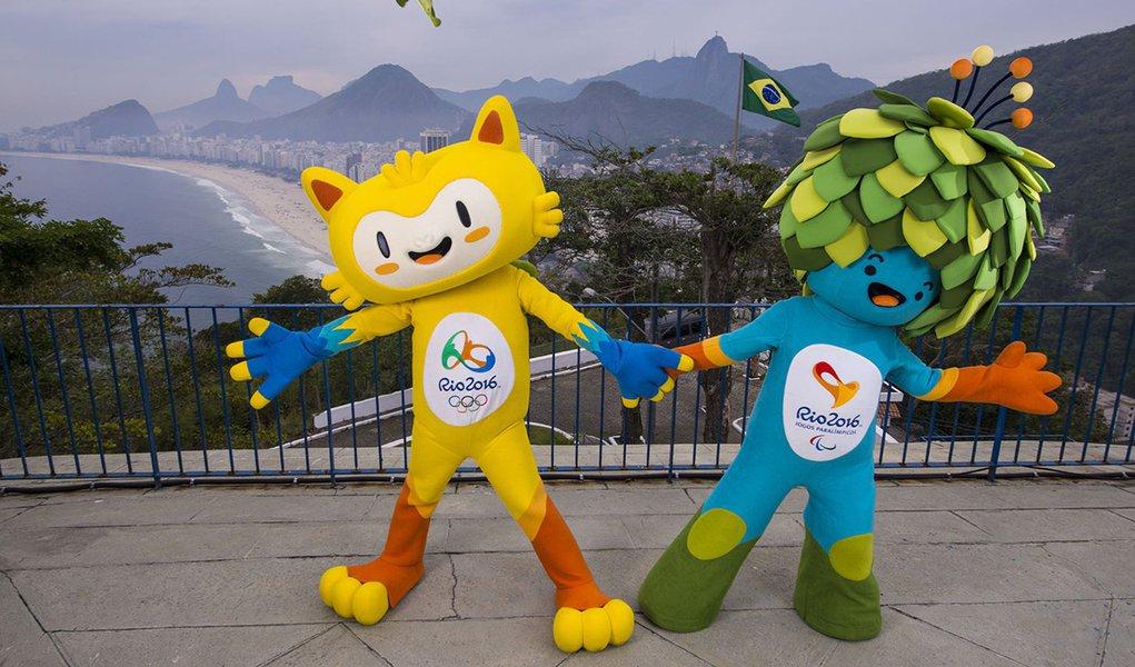 mascotes rio 2016 olimpiadas