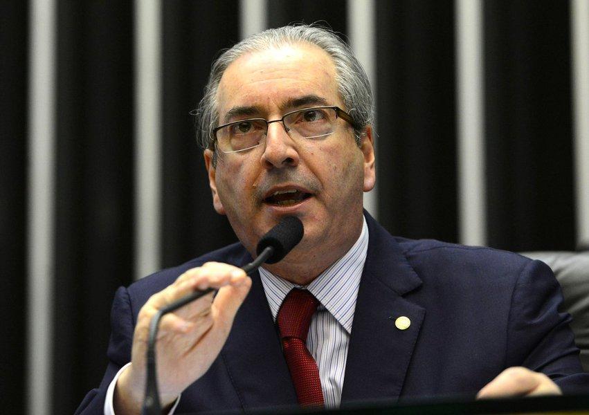 Brasília - Presidente da Câmara, Eduardo Cunha, durante sessão Plenaria. Foto: Valter Campanato/Agência Brasil