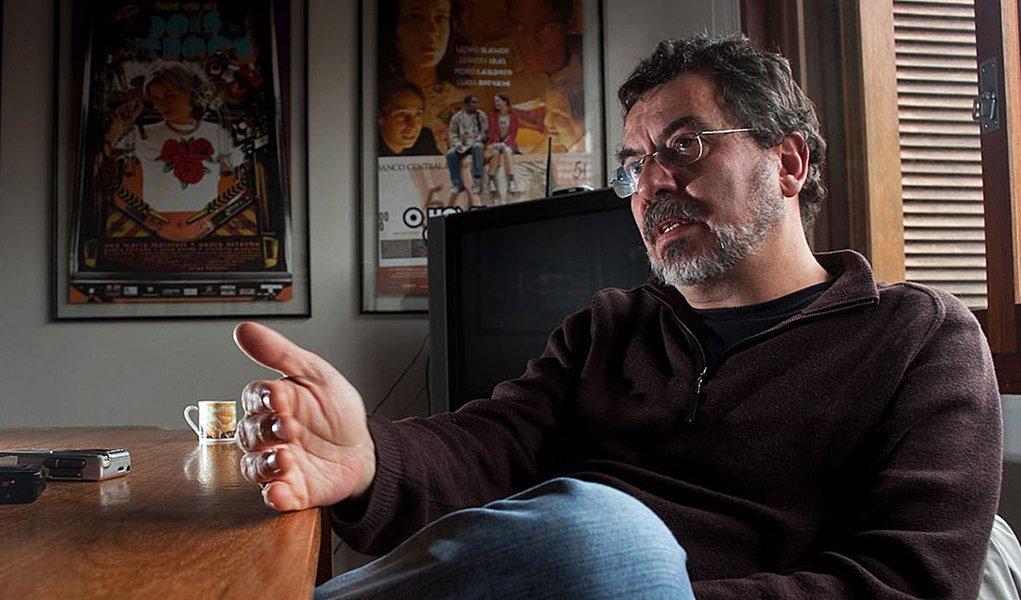 Porto Alegre - Entrevista com Jorge Furtado na sede da Casa de Cinema - Foto Eduardo Seidl - 10.05.10