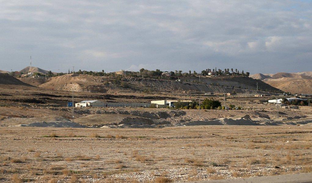Vale do Jordão perto da cidade de Jericó, na Cisjordânia. 20/01/2016 REUTERS/Mohamad Torokman