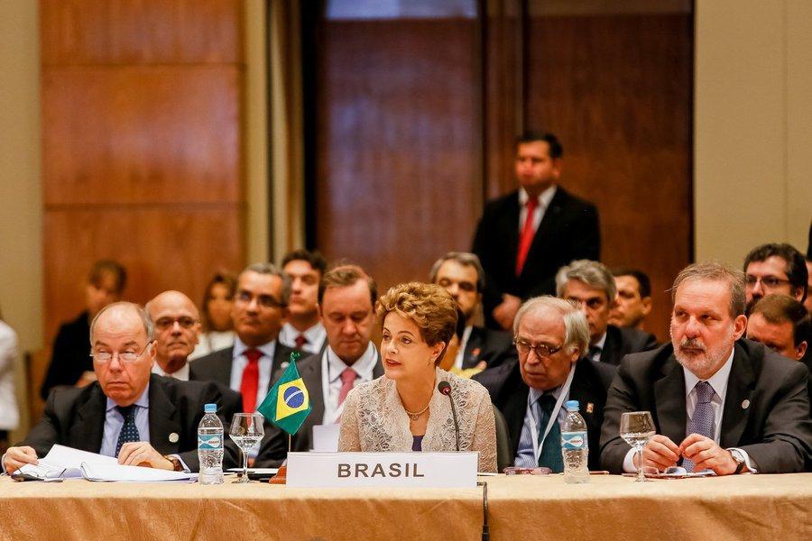 Assunção-Paraguai, 21/12/2015. Presidenta Dilma Rousseff durante a XLIX Cúpula dos Estados Partes do Mercosul e Estados Associados. Foto: Roberto Stuckert Filho/PR
