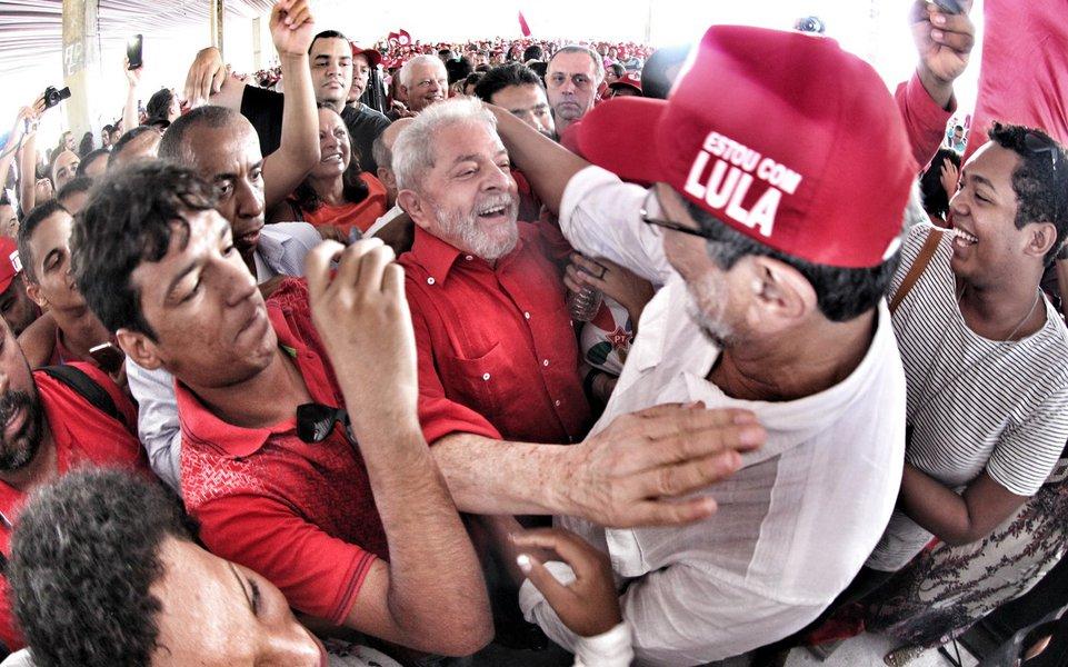 11/01/2017- Salvador- BA, Brasil- Lula participa do 29 Encontro Estadual do MST da Bahia. Foto: Felipe Araujo