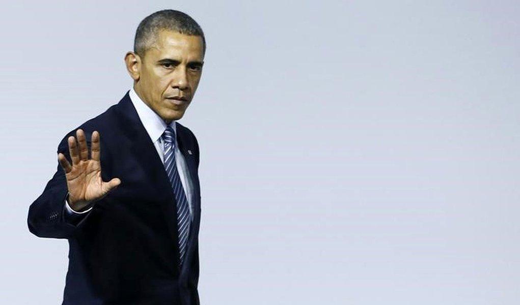Presidente dos Estados Unidos, Barack Obama, durante evento em Paris. 30/11/2015 REUTERS/Ian Langsdon/Pool