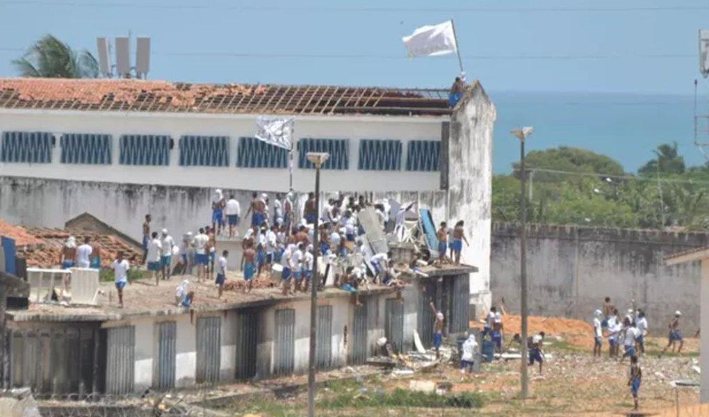 Rebelião na Penitenciária de Alcaçuz, Rio Grande do Norte .2