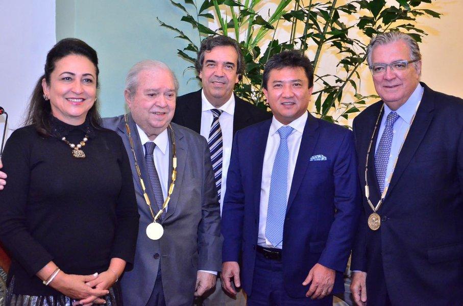 Kátia Abreu e Carlos Henrique Schroder
