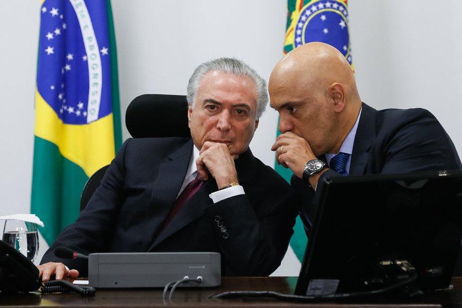 (Brasília, DF 05/01/2017) Reunião com o Núcleo Institucional. Foto: Beto Barata/PR