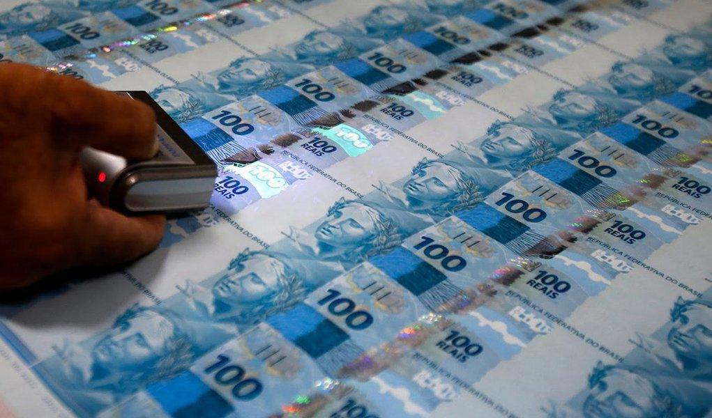 casa da moeda dinheiro notas