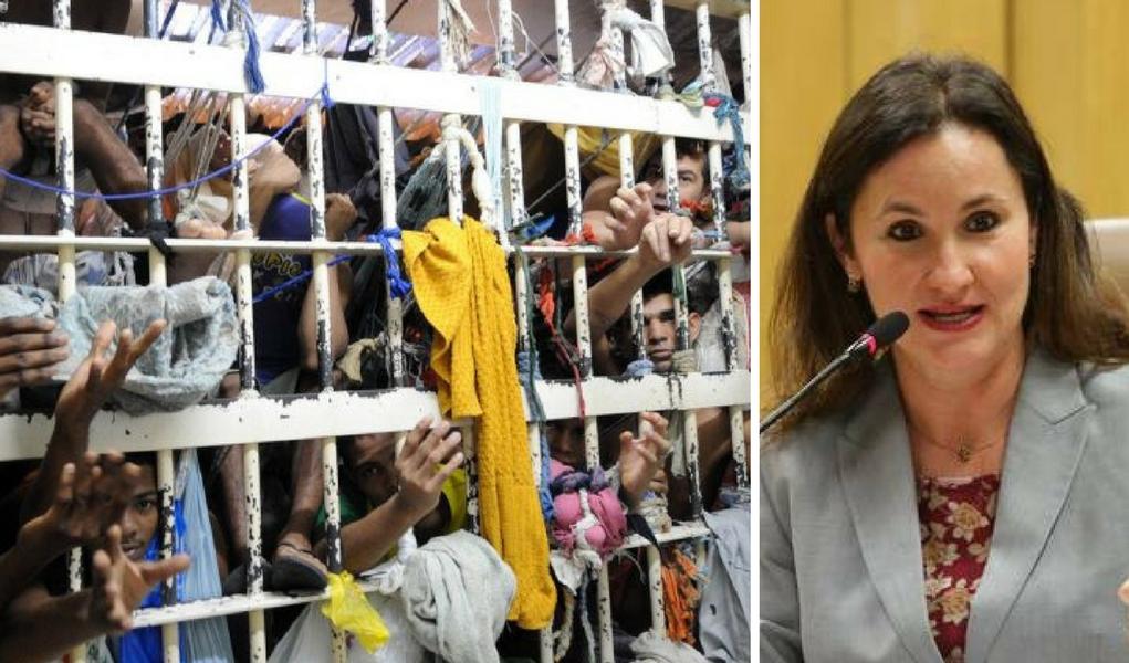 Flávia Piovesan, presos, cadeia, encarceramento