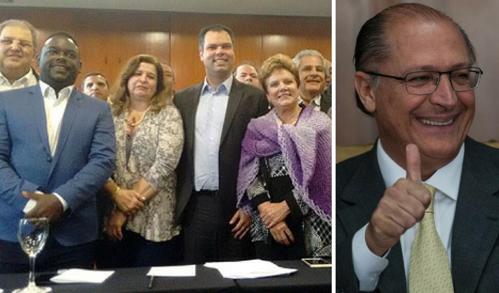 Alckmin subprefeitos Doria