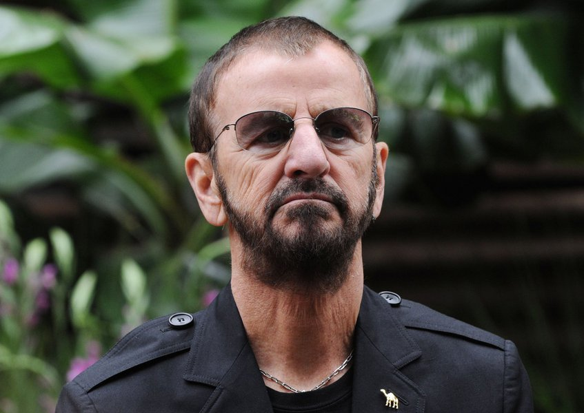 LONDON, UNITED KINGDOM - MAY 21: Ringo Starr attends the press and VIP oreview day for The Chelsea Flower Show at Royal Hospital Chelsea on May 21, 2012 in London, England. (Photo by Stuart Wilson/Getty Images)