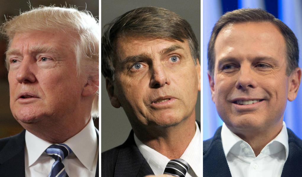 Trump, Bolsonaro e Doria