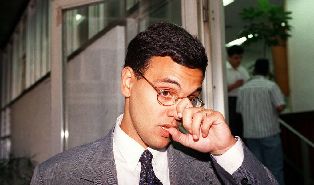 Alexandre de Moraes em 1997, quando era promotor em São Paulo