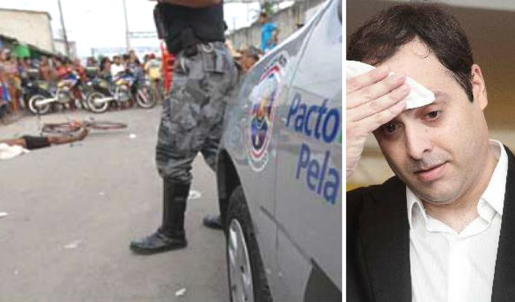 Paulo Câmara violência homicídio pernambuco
