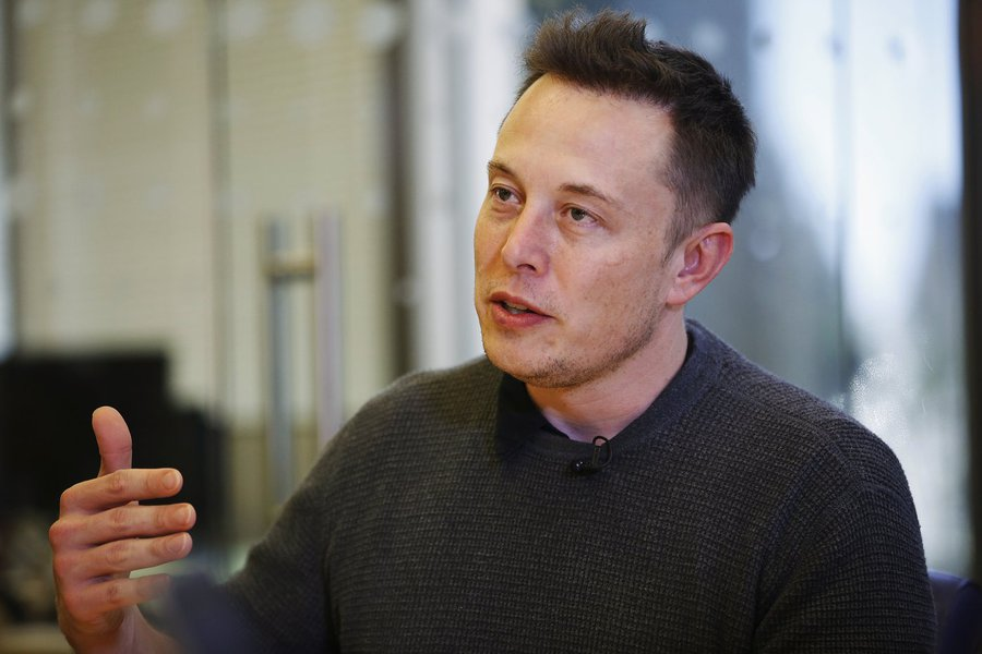 Elon Musk, Chief Executive of Tesla Motors and SpaceX, speaks during the Reuters Global Technology Summit in San Francisco June 18, 2013. REUTERS/Stephen Lam (UNITED STATES - Tags: BUSINESS SCIENCE TECHNOLOGY TRANSPORT) - RTX10SPG