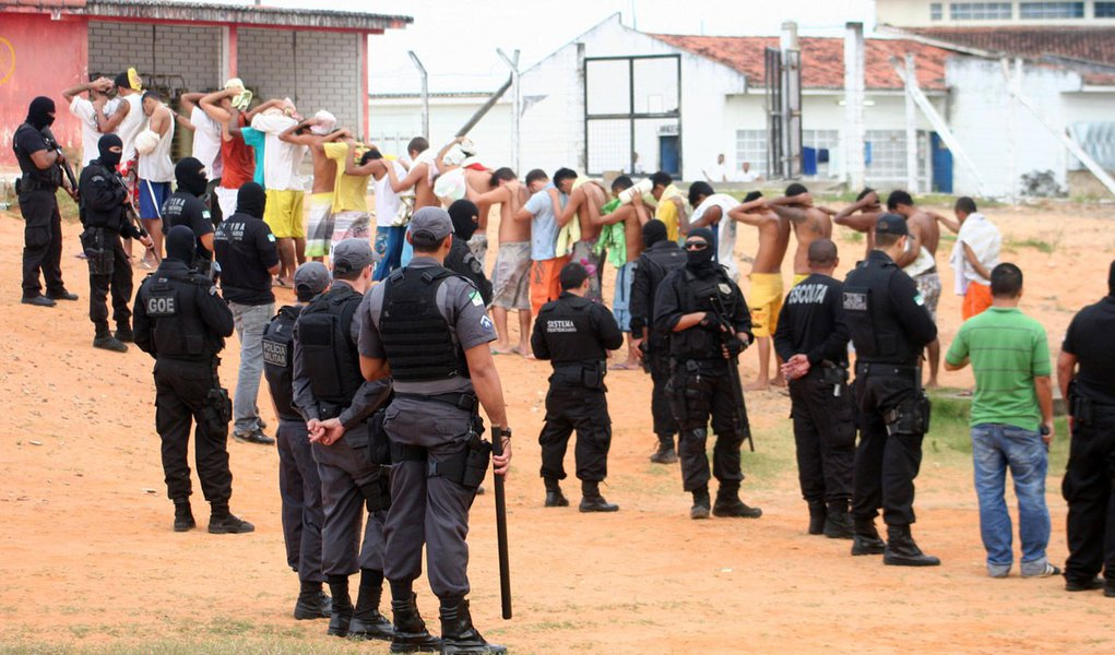 14/09/2011 - Natal - Policia - Rebelião no Presidio de Alcaçuz.foto:Emanuel Amaral/H:/Selecionadas