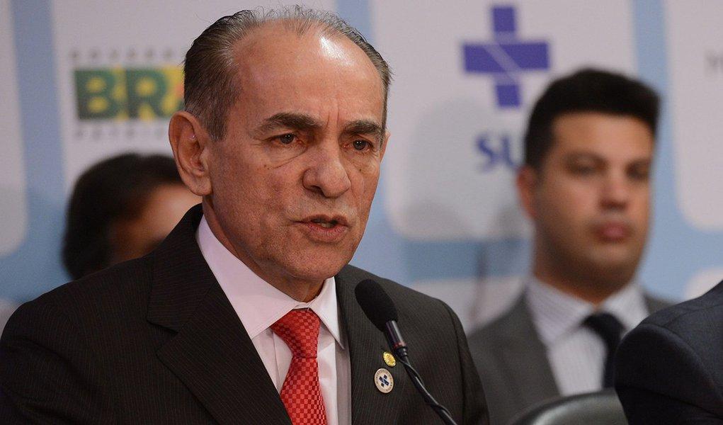 Brasília - Solenidade de transmissão de cargo ao novo ministro da Saúde, Marcelo Castro (Elza Fiúza/Agência Brasil)