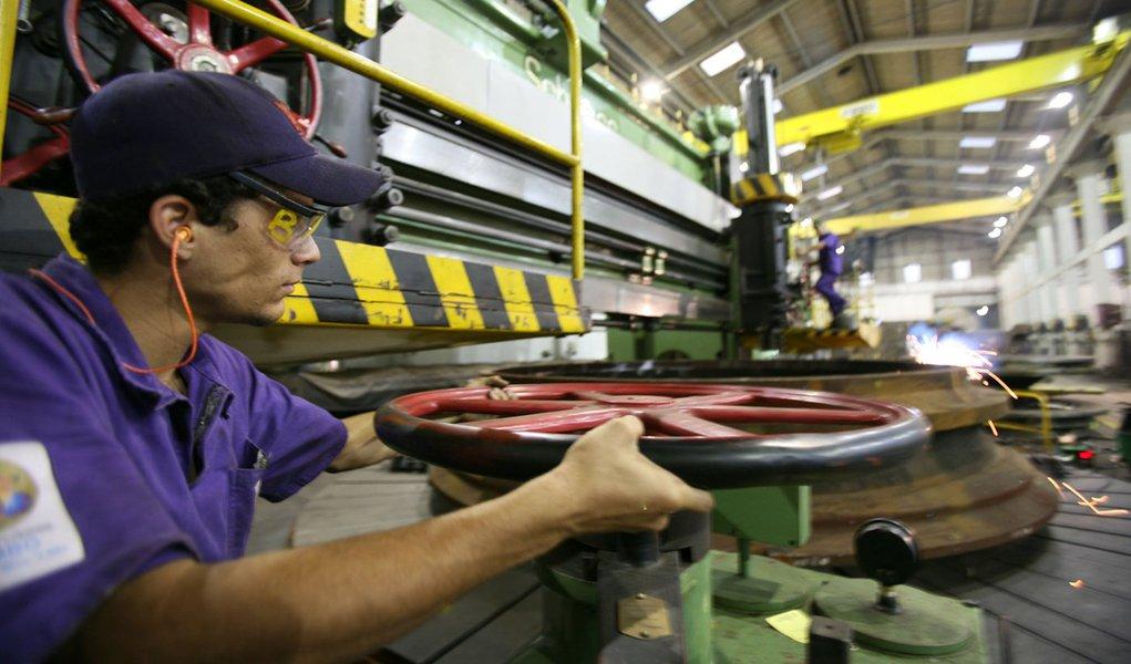 Produção industrial no Paraná. Foto: Gilson Abreu/FIEP