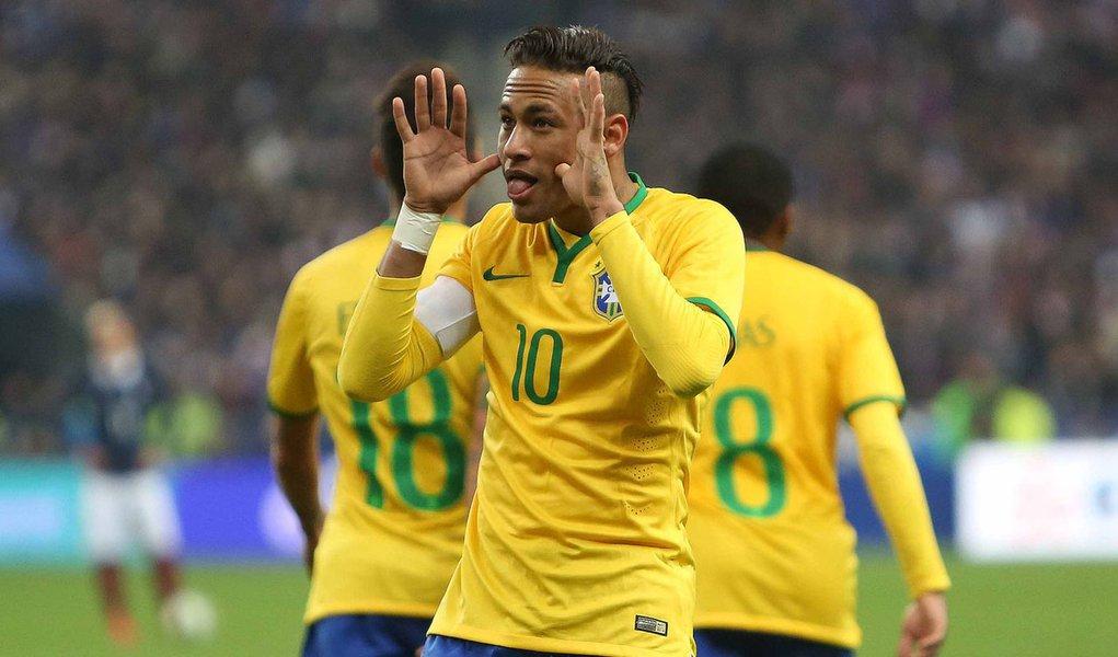 Brasil x França no Stade de France em Paris dia 26 de março de 2015. Foto: Rafael Ribeiro