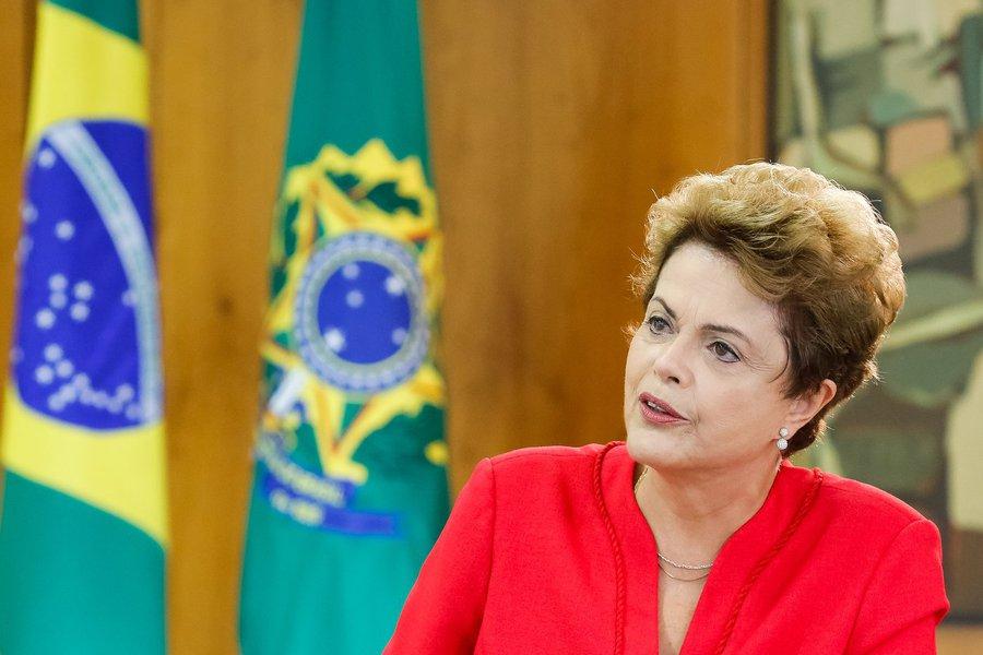 Brasília - DF, 05/06/2015. Presidenta Dilma Rousseff durante entrevista à TV France 24. Foto: Roberto Stuckert Filho/PR.