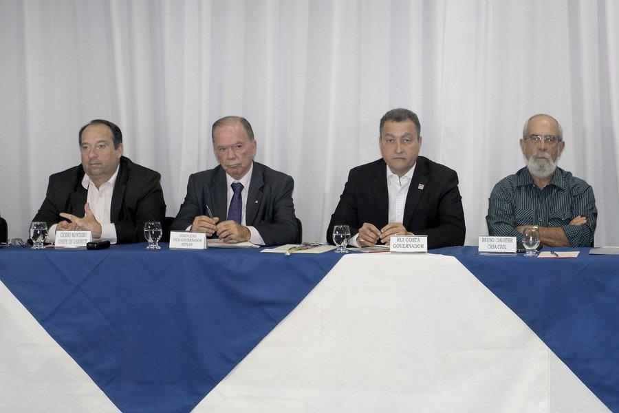 Governador Rui Costa se reúne com secretariado. Foto: Camila Souza/GOVBA