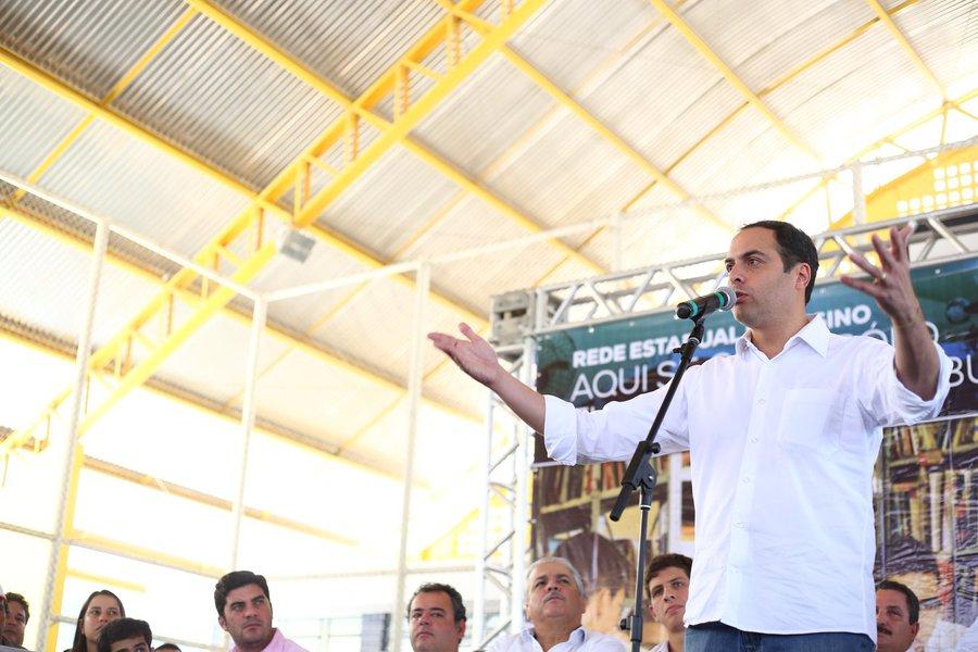Governador de Pernambuco Paulo Câmara (PSB)
