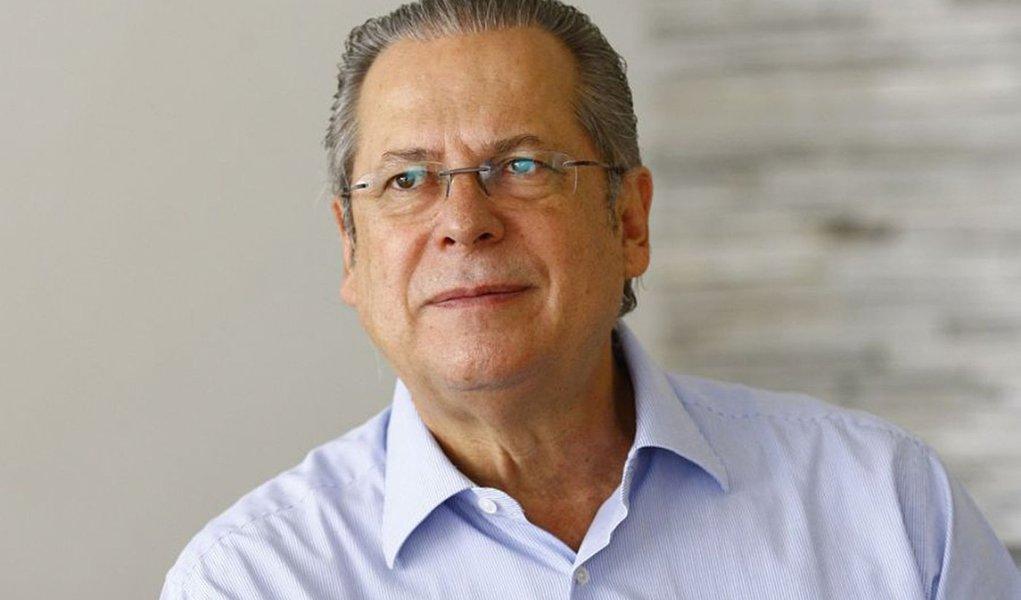 O ex-ministro José Dirceu disse que campanha de Dilma não deve ter salto alto