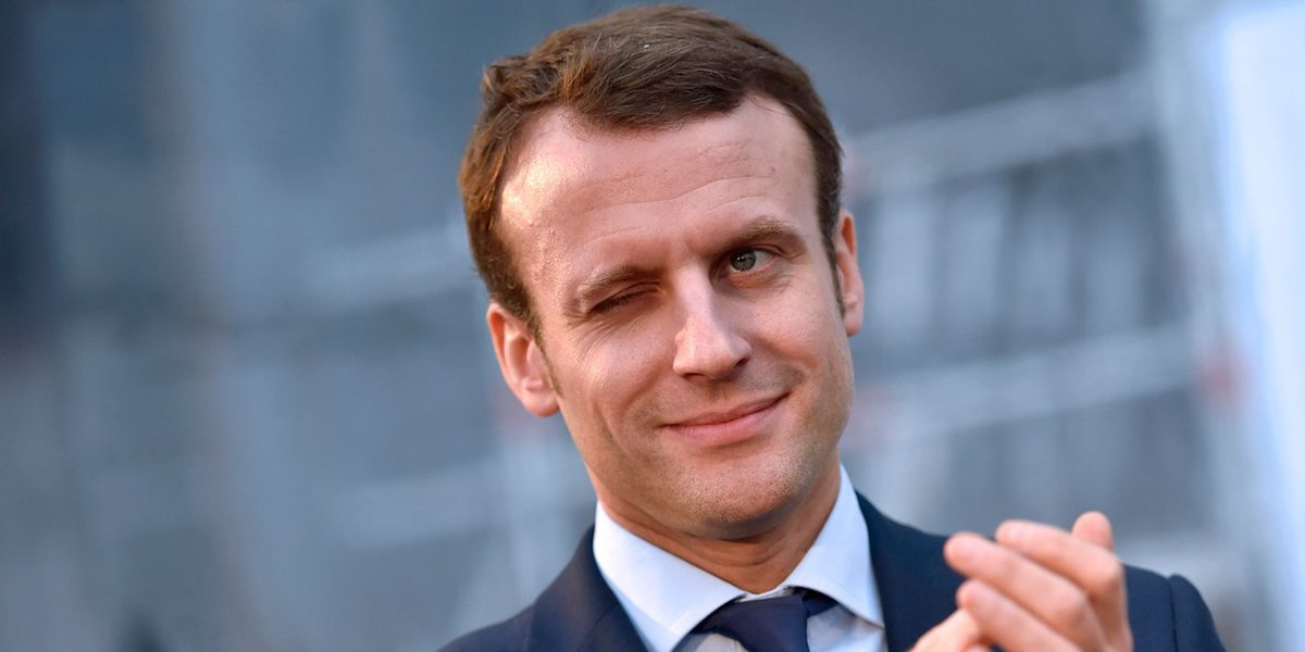Presidenciável francês Emmanuel Macron