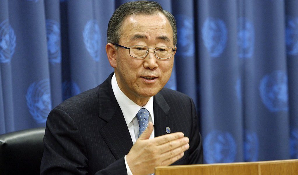 Press Conference: UN Secretary-General Ban Ki-moon, accompanied by John Holmes, Under-Secretary-General for Humanitarian Affairs and Emergency Relief Coordinator, to brief on the situation in Myanmar.
