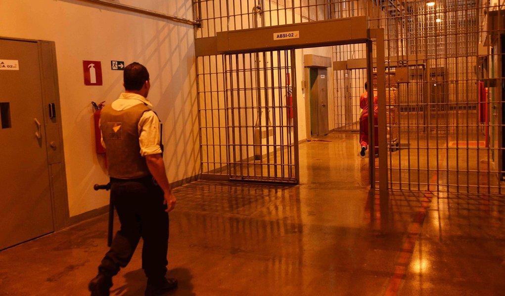 A Penitenciária PPP, de Ribeirão das Neves, completa um ano de funcionamento. Crédito: Carlos Alberto/Imprensa MG Data: 22-01-2014 Local: Ribeirão das Neves MG