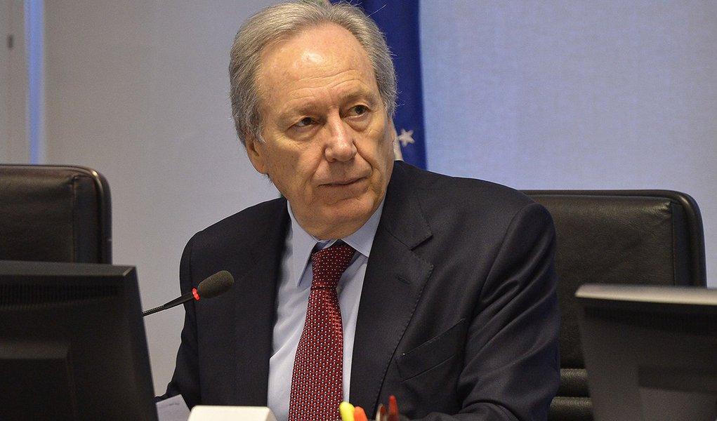 O Conselho Nacional de Justiça (CNJ) faz a 195ª Sessão Ordinária. A primeira sessão do ministro Ricardo Lewandowski como presidente do CNJ e do Supremo Tribunal Federal (Antônio Cruz/Agência Brasil)