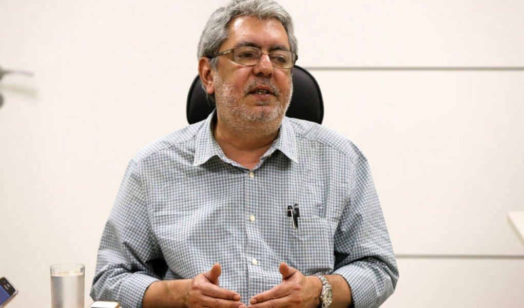 Brasília- DF 02-09-2016 Ricardo Melo presidente da EBC durante coletiva. Foto Lula Marques/Agência PT