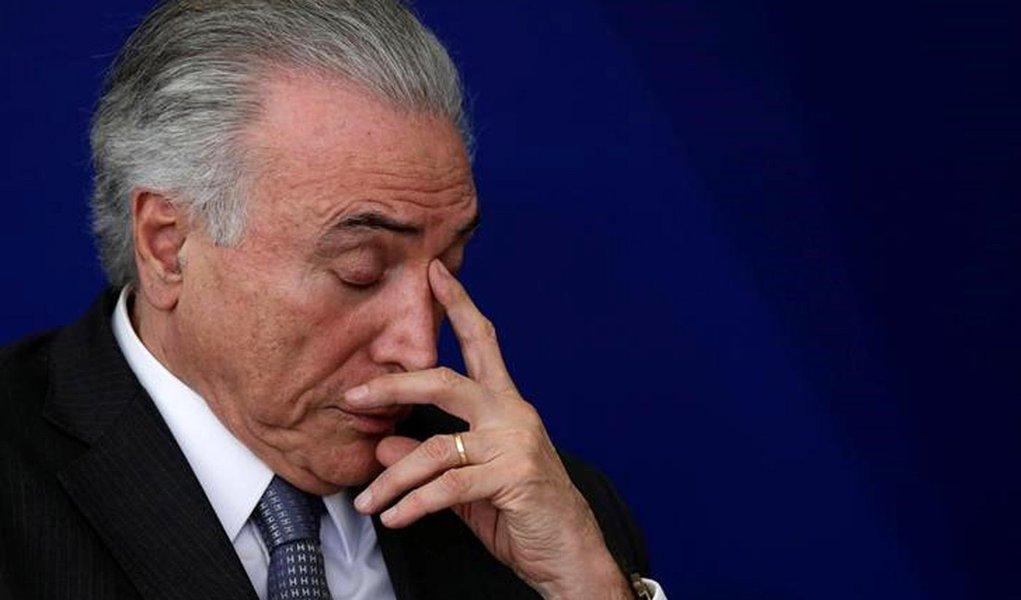 Presidente Michel Temer durante cerimônia no Palácio do Planalto, em Brasília 22/09/2016 REUTERS/Ueslei Marcelino